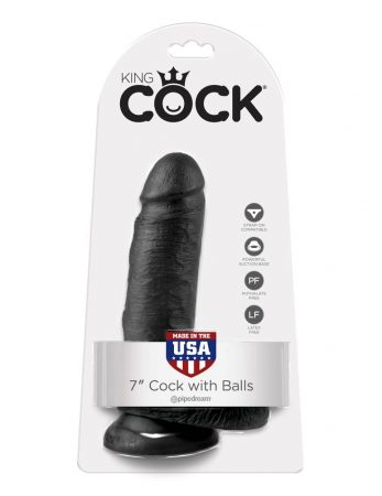 """King Cock  7 Cock with Balls"""""""